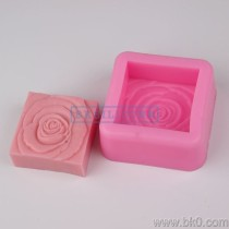 BF012 big rose flower Silicone 3D Mold Cake Decoration Fondant Mold soap Mold