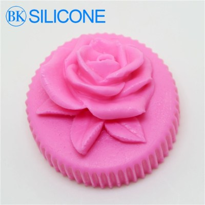 3D Rose Soap Silicone Molds Cake Mould Baking Tools AF020