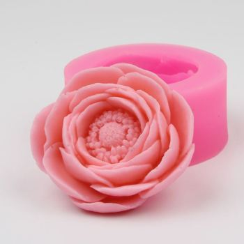 AZ007 3D Flower Silicone Sugarcraft Fondant Mold Cake Baking Decorating Tool Kitchen Cake Mould