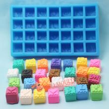 New Letters Silicone Chocolate Molds Sweet Fondant Mold AD014