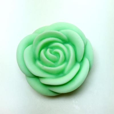 3D Rose Candle Silicone Molds Flower Flexible Silicone Mould For Resin Candy Candle Craft AM014
