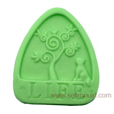 Life Tree Silicone Soap Mold Molds Crafts Mold AX019