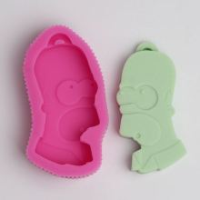 BC018 Famous Cartoon Characters Shape Silicone Mold, For Fondant Cake Mold, Bakware Tools, Soap Mold