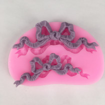 BK1021 Butterfly Knots Shape Cake Mold Chocolate Mold g Cake Tool DIY Sugarcraft Decoration Tool