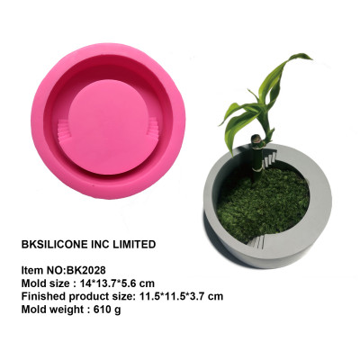 circular ladder concrete cement silica gel mold BK2028