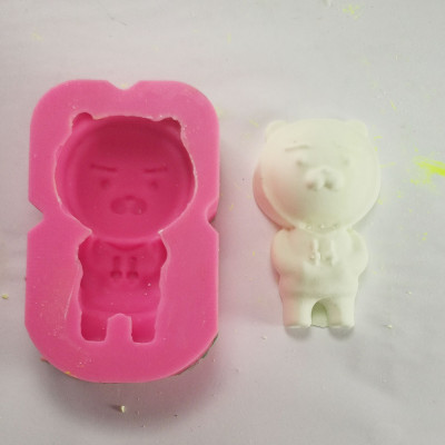 Aromatherapy gypsum mould diy craft materials gesso of aromatherapy oil candle mould