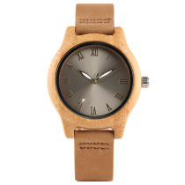 Quartz Nature Wood Watch, Women Girls Fashion Creative Woman's Bamboo Watches, Bamboo Wristwatch Bracelet
