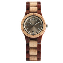Wood Watch, Full Wood Wristwatch for Men Women, Casual Business Wooden Quartz Watch