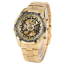 Men's Luxury Watch, FORSINING Mechanical Stainless Steel Strap Wrist Watches, Watch for Men