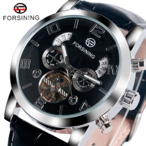 FORSINING Brand Men's Watch, Automatic Self-winding Mechanical Tourbillon Wrist  Watch, Watch for Men