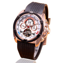 Mens Watch, Tourbillon Mechanical Multifunctional Waterproof Wrist Watch, Watch for Men