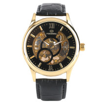 FORSINING Watch, Hand-Winding Skeleton Mechanical Wrist Watches, Watch Gift for Men