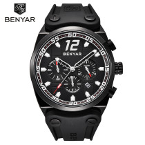 Fashion Chronograph Sport Men Watches Military Leather Clock