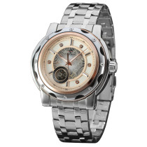 FORSINING Watch, Calendar Tourbillon Automatic Mechanical Wrist Watch, Watch for Men