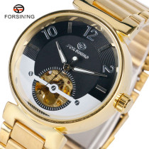 FORSINING Men Watch, Automatic Mechanical Stainless Steel Wrist Watch, Watch for Men