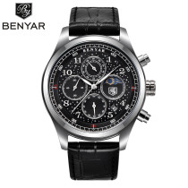 Men's Watch, Business Chronograph Date Day Sports Watch for Women Men, Waterproof 3ATM Quartz Wristwatch