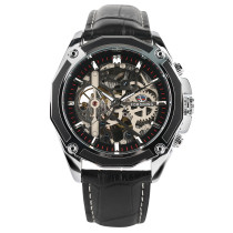 FORSINING Men Watch, Skeleton Mechanical Watches Waterproof Classic Business Wristwatch, Gift for Men