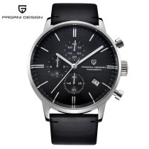 PAGANI DESIGN Watch for Men, 30M Waterproof Chronograph 3 Sub-dials Business Wristwatch, Gift for Men