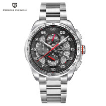 PAGANI DESIGN Men's Watch, Luxury Multi Chronograph Sport Watch for Men Women, 30m Water Resistant Wrist Watches