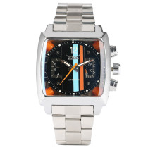 JARAGAR Watch, Elegant Square Mechanical Self-Winding Automatic Wristwatches, Gift for Mens
