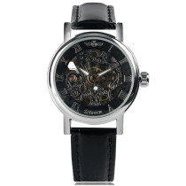 Men's Watch, High Quality Mens Luxury Roman Number Self-Wind Mechanical Wrist Watch, Gift for Men