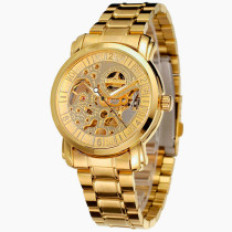 Men's Luxury Watch, Automatic Mechanical Wristwatch with Stainless Steel Strap, Gift for Men