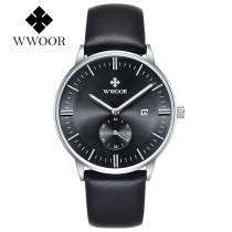 WWOOR Casual Men's Watch, Business Sport Watch for Men Women, Luxury Brand 30M Water Resistant Wrist Watch