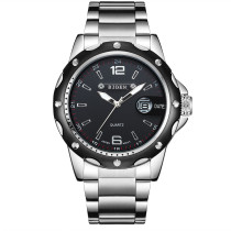 BIDEN Men's Watch, Unique Aviator Watch Stainless Steel Clock Male Military Sport Wrist Watch, Gift for Men