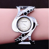 New Design Women Watch, Bangle Watch Quartz Crystal Wrist Watch, Luxury Rhinestone Fashion Female Watches for Women