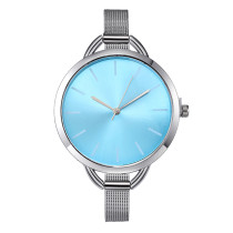Luxury European Style Ladies Watches, Stainless Steel Elegant Big Dial Women Wrist Watch, Casual Dress Female Wristwatch Clock for Women