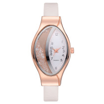 Women's Bracelet Watch, Fashion Oval Case Stainless Steel Unisex Analog Quartz Watch Gift for Women