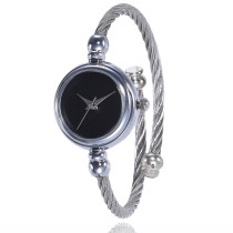 Elegant Ladies Women Watch, Bracelet Watch Silver Strap Simple Design Wristwatch for Women, Casual Wrist Quartz Watch