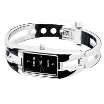 Unique Rectangle Men's Watch, Dial Simple Bracelet Bangle Wristwatch, Quartz Wrist Watch for Women Lady Girl