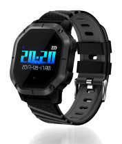 Smart Watch, Waterproof Multiple Sports Modes Cycling Swimming Heart Rate Monitor Wrist Watch, Blood Oxygen Blood Pressure Clock for Men
