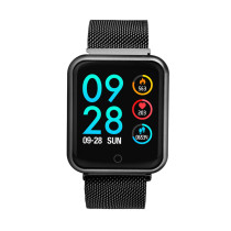 2018 P68 Smart Watch, Blood Pressure Blood Oxygen Heart Rate Monitor Wristwatch, Sports Tracker IP68 Smart watch for Men Women