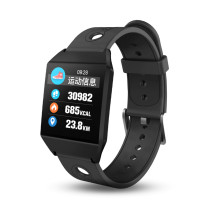 W1 Bluetooth Smart Watch, Blood Heart Rate Tracker Wristwatch, Android IOS GPS Religion Pedometer Smart watch for Man Women
