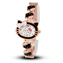 Women Child Cartoon Bracelet Watch, Hello Kitty Fashion Casual Dress Quartz Wristwatch, Female Mujer Relojes Hot Sale Kid Clock