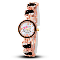Women Hello Kitty Watch, Fashion Casual Dress Wristwatch Quartz Relogio Feminino Female Wrist Watches, Cartoon Luxury Hot Sale Clock