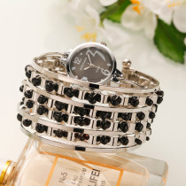 NEW Bracelet Women Watch, Casual Dress Steel Watch Band, Multi-layer Bracelet Wrist Watch for Women