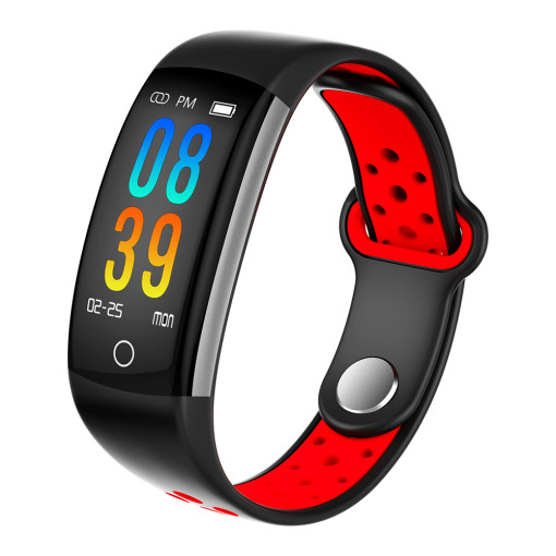 Bluetooth Fitness Smart Watch, Tracker-Q6 LCD Screen Display Sports Smart Wristwatch, Record Health Monitoring Waterproof Smart Watch for Men Women