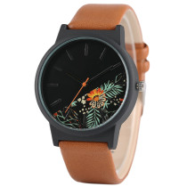 Unique Men's Watch, Unisex Wristwatches, Tropical Jungle Design Quartz Watch for Men's Women's