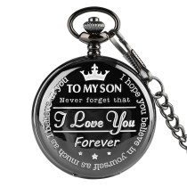 Leisure Pocket Watch for Man, Stylish Pocket Watches for Boy, Birthday Gifts Chain Pocket Watch for Teenagers