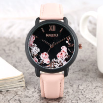 2018 New Fashion Watch for Women, Belt Elegance Watch for Lady, Flower Design Quart Watch for Girls