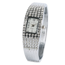 Diamond Quartz Watch  for Women, Hook Buckle Watches for Girl, Stainless Steel Wristwatch for Teenagers