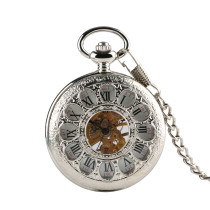 Classic Style Pocket Watch for Men, Mechanical Pocket Watch for Boys, Exquisite Pocket Watch Gift for Father or Friends