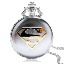 Men's Pocket Watch, Retro Superman Pocket Watch Men Boy Watches High Quality, Gifts for Men