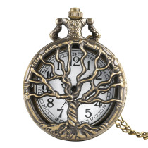 New Pattern Pocket Watch for Man, Reteo Pocket Watches for Boy, Quartz Pocket Watch Chain for Male