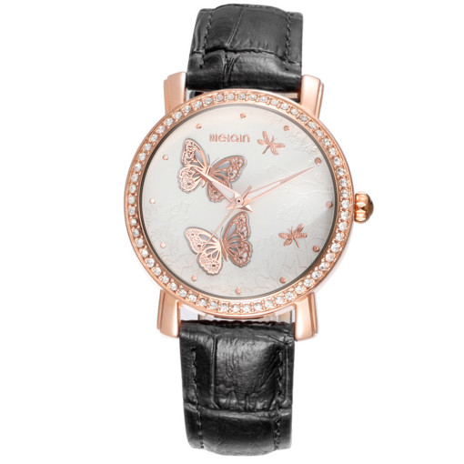 Casual Fashion Watches for Women, Quartz Leather Waterproof Watchband, Best Ladies Dress Wristwatches Clock for Women