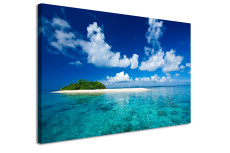 Amosi Art-Single Panel Maldives Seaview  canvas printing wall art for wall decoration