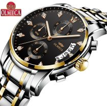 Hot Selling OLMECA Brand Clock 3ATM Waterproof Watches Military Watches Relogio Masculino Wrist Watch Fashion Watches for men